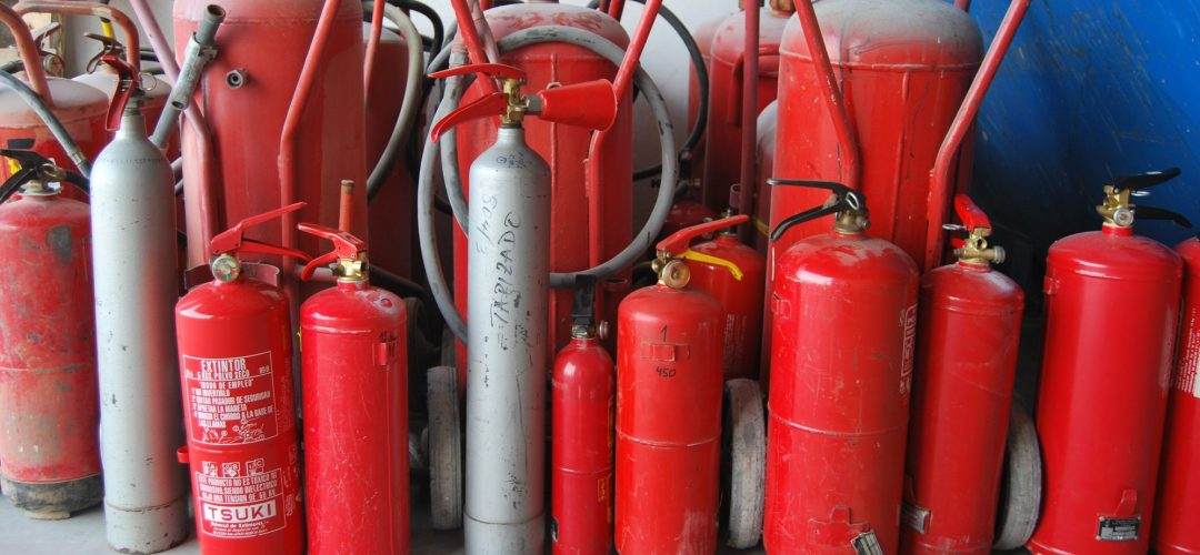 Extintores reciclados