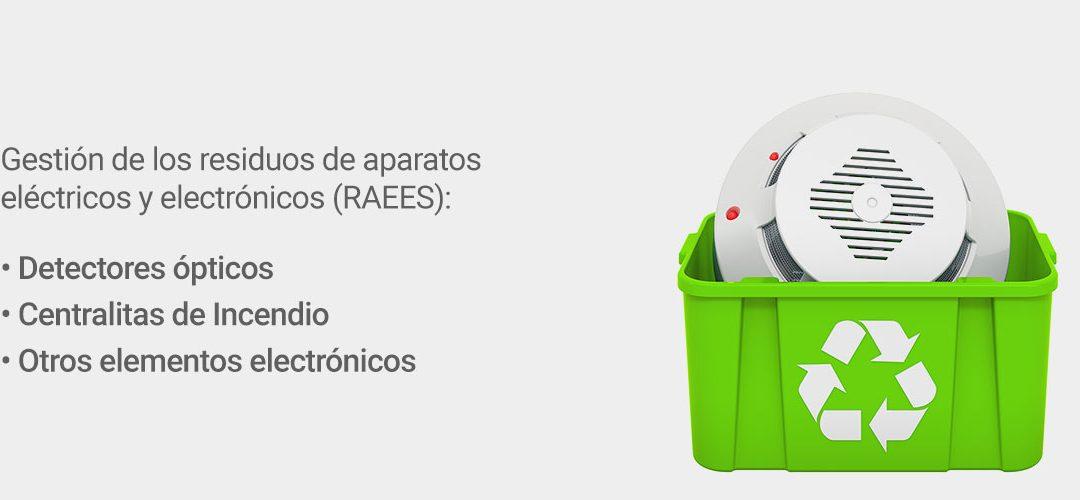 servicio de reciclaje raees detectores ópticos centralitas elementos electrónicos